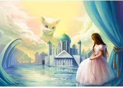 童话故事背景