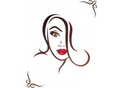 时尚插画女性图片