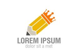 铅笔图案logo图案