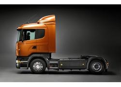 货车车头摄影图