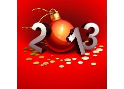 2013圣诞吊球素材