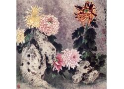 菊花装饰画素材