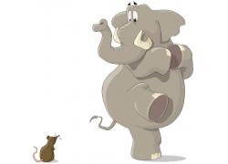 各种动物脚印_卡通大象矢量图片(图片ID:1081165)_-陆地动物-生物世界-矢量素材 ...