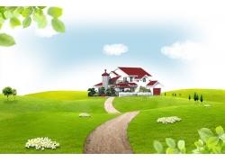 绿色环保素材