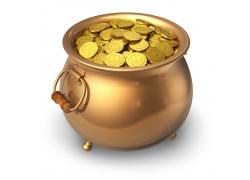 聚宝盆里的金币