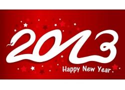 2013快乐圣诞新年数字