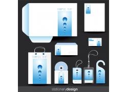 蓝色科技VI模板
