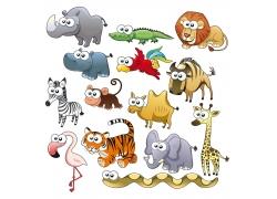 矢量动物设计素材图片