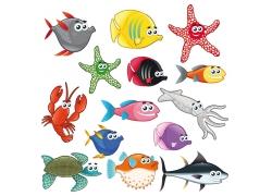 海洋生物设计素材图片