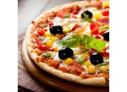 意大利美食披萨