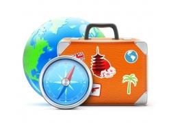 旅游图标按钮图片