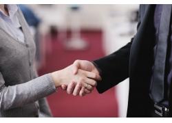 商业握手摄影