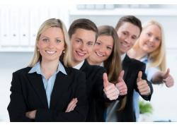 自信成功商务团队
