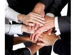团结合作的商务团队