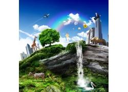 创意城市绿色环保