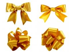 金色蝴蝶结摄影