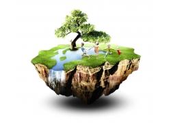 环保悬浮岛
