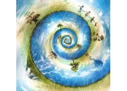 环保海洋旅游