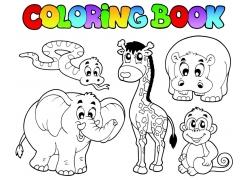 卡通动物设计图片