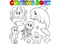 海洋动物设计图片