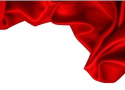红色绸缎背景