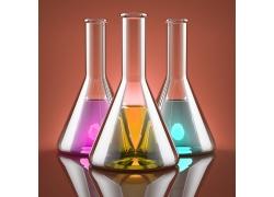 玻璃瓶背景素材