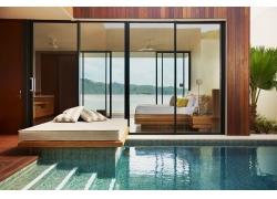 海边豪华别墅室内设计图片