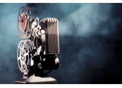 电影放映机摄影
