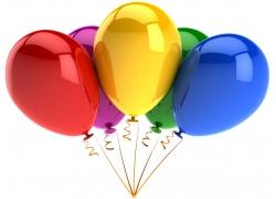 彩色气球摄影