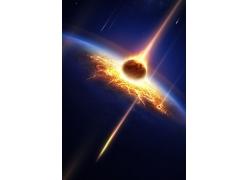 流星撞击地球