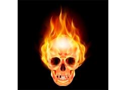燃烧的骷髅