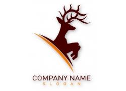 麋鹿logo图案