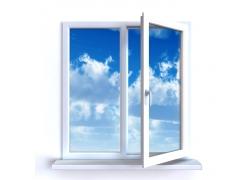 窗外的蓝天白云