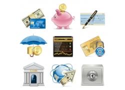 商务金融货币图标