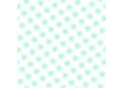 白色背景蓝色小花图案