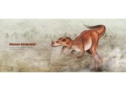 恐龙插画图片