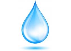矢量水滴图案