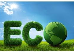 创意绿色地球环保