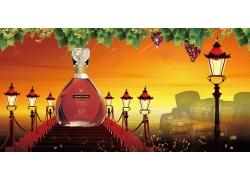高档红酒广告设计