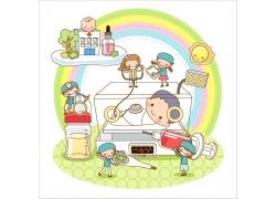 医院医生和病人卡通图案图片