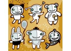 卡通外星生物图片