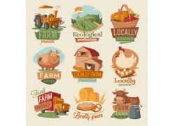 农场卡通图标图片