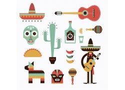 墨西哥风情矢量素材