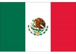 墨西哥国旗矢量图案