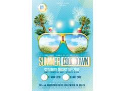 夏日旅游海报设计