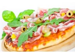 外国美食披萨图片