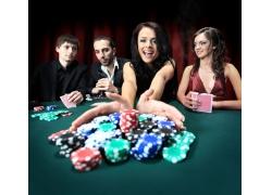 赌博的人物摄影
