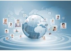世界各地商务人物对话图片