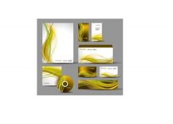 金色奢华风格的公司VI设计模板