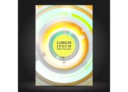 圆环风格的画册设计模板图片